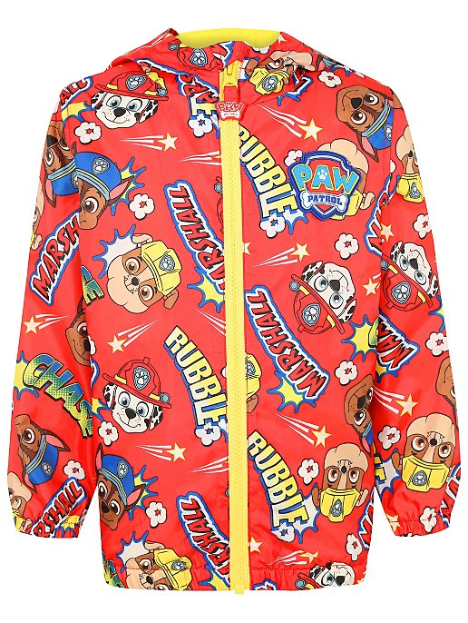 9f772f356 Red PAW Patrol Shower Resistant Jacket