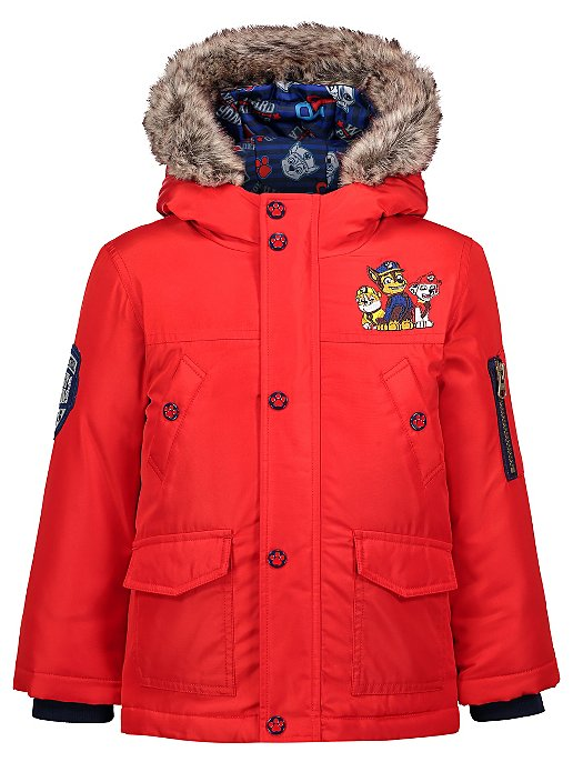 Red PAW Patrol 3-in-1 Shower Resistant Padded Coat  f03128ed4