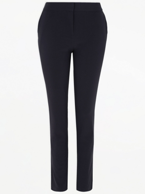 Senior Girls Navy Slim Leg School Trousers