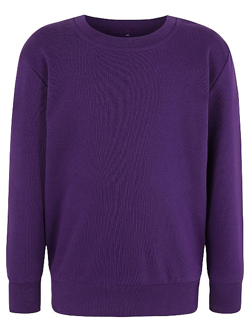 Purple Crew Neck School Jumper. Reset ef155136e