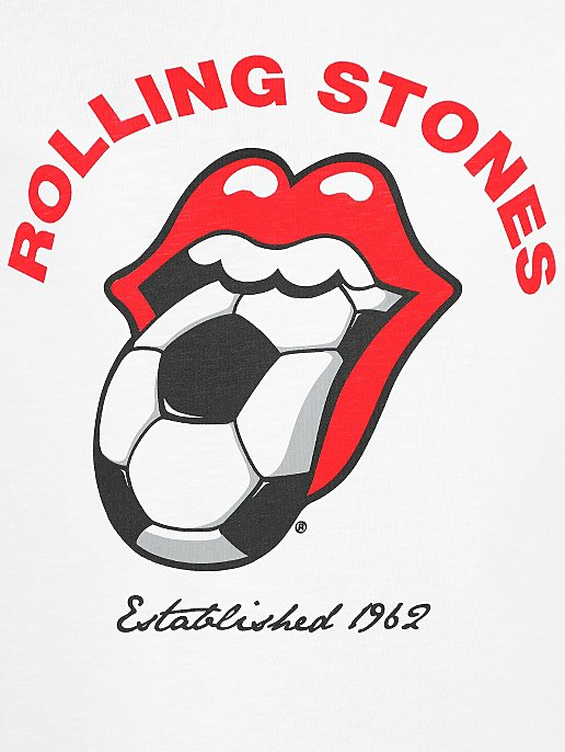09017e623 The Rolling Stones Football T-Shirt