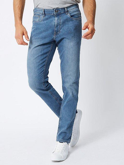 b8961b26430 Blue Light Wash Slim Fit Jeans | Men | George