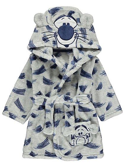 Disney Tigger Grey Dressing Gown | Baby | George