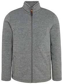 Ozark Trail Grey Borg Lined Zip-Up Jacket