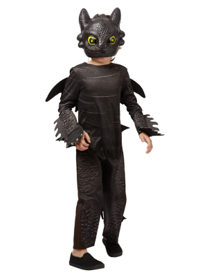 Dragons Toothless Fancy Dress Costume