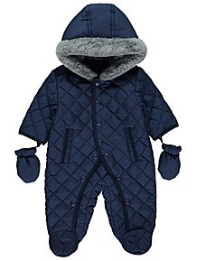 5703a2b5d Baby Boys Coats   Pramsuits