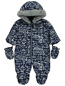 96e82687a Baby Boys Coats   Pramsuits