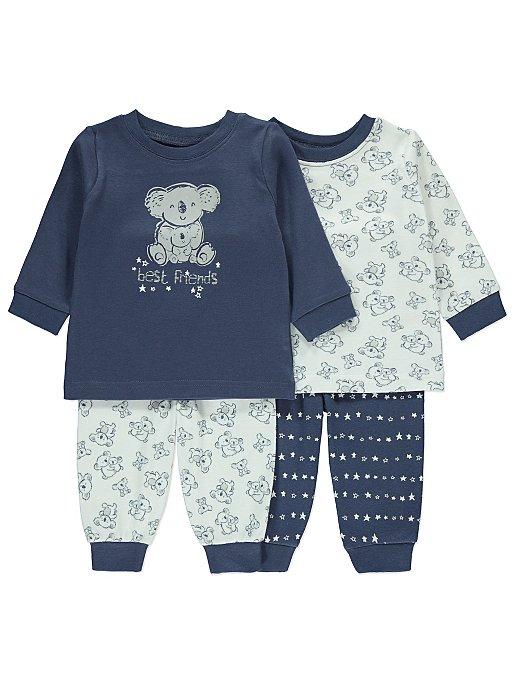 e7398e149 Printed Koala Pyjamas 2 Pack