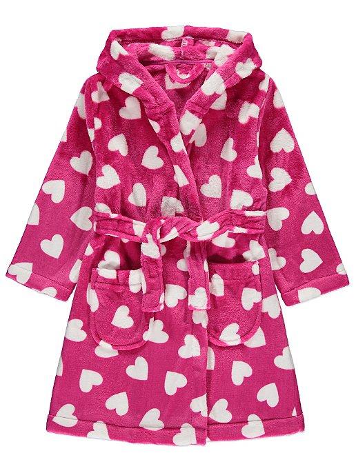 14a0a2d01c Pink Heart Print Dressing Gown. Reset