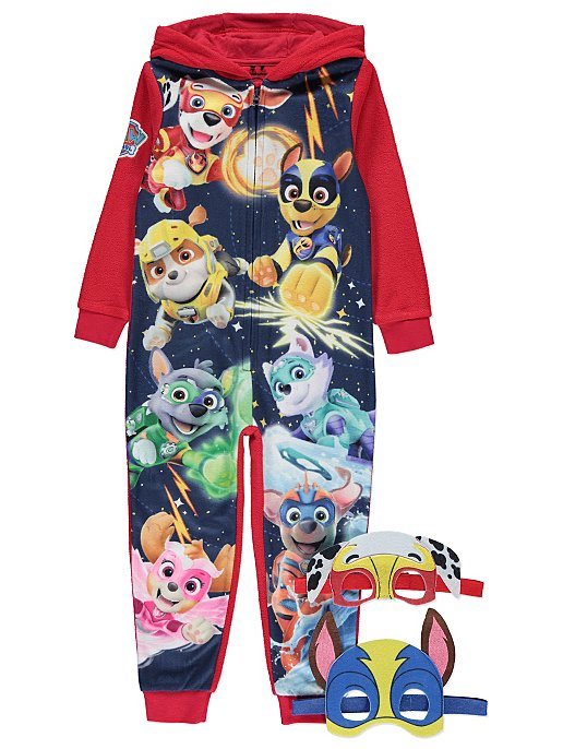 8d0ef4f3f386 PAW Patrol Red Onesie and Character Mask Set
