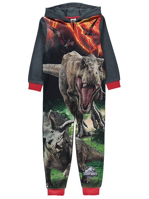 04454ab8b Jurassic World Hooded Onesie