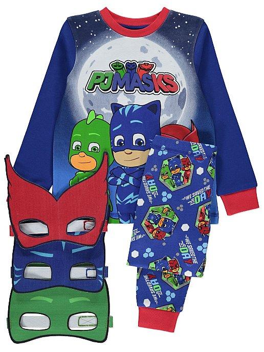 6974f7ce72e3 PJ Masks Pyjama and Masks Set