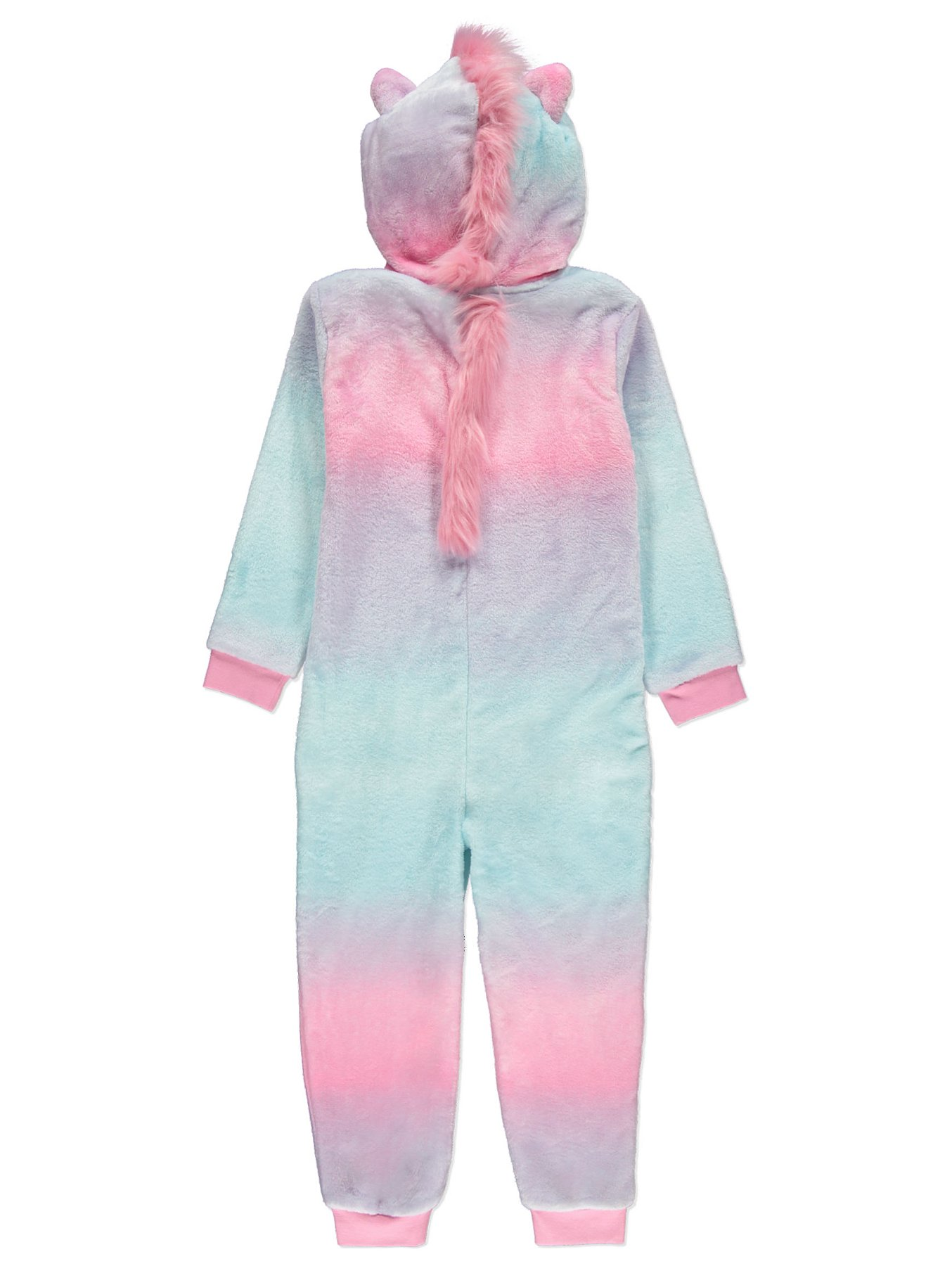 Pink Unicorn Hooded Fleece Onesie  c3851901d