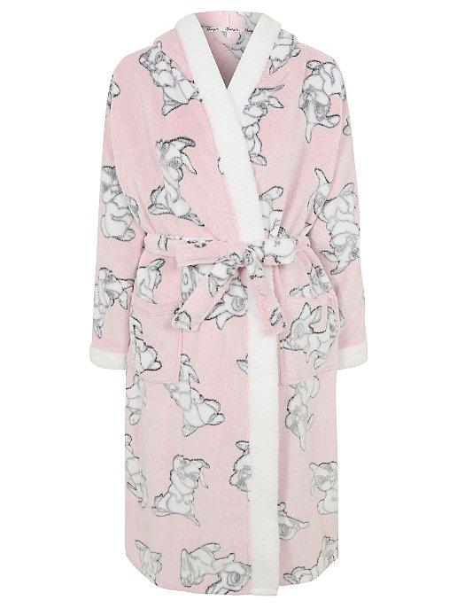 b66de978016a Disney Thumper Pink Hooded Dressing Gown