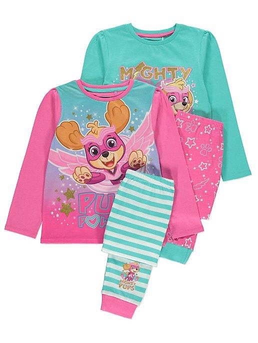 Pink PAW Patrol Pyjama Set 2 Pack  1215b301a