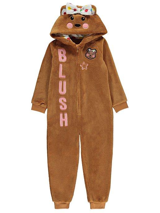 Children in Need Fleece Blush Onesie  25389f136f2b
