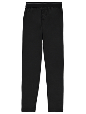 Black Base Layer Long Johns