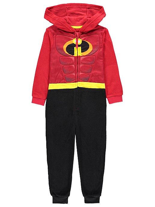 b7ff4ccdbd Disney The Incredibles 2 Hooded Fleece Onesie