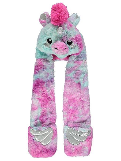 Unicorn Hooded Scarf  459e412dc9b5