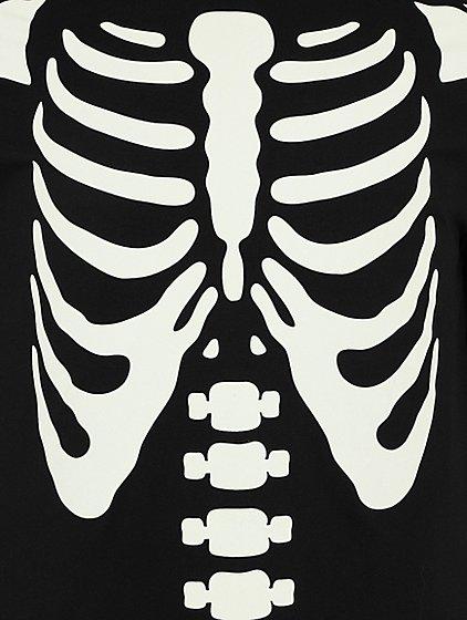 Halloween Glow in the Dark Skeleton Top | Men | George