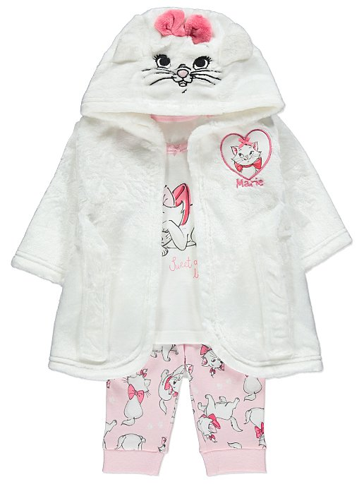58a5cdc99 Disney Aristocats Marie Pyjamas and Dressing Gown Set | Baby | George