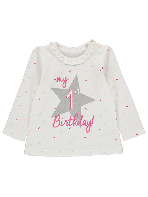 My 1st Birthday T Shirt Reset