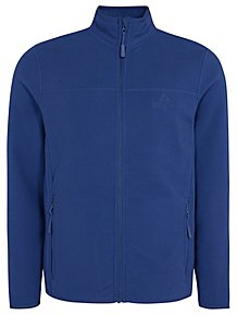 Ozark Trail Blue Fleece Zip-Up Jacket