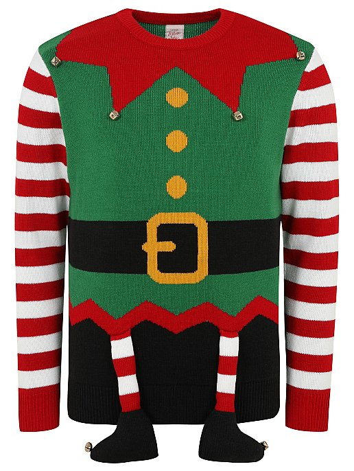 07dec76f5 Elf Christmas Jumper