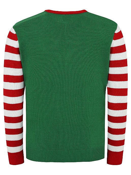 c2b21f9e0 Elf Christmas Jumper | Men | George