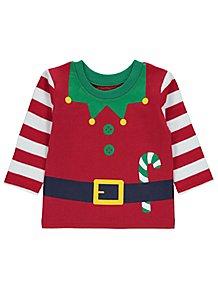 94fce571cee Red Christmas Elf T-Shirt