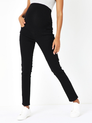 Maternity Black Over Bump Skinny Jeans