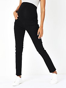 0efa95cb122 Maternity Black Over Bump Skinny Jeans