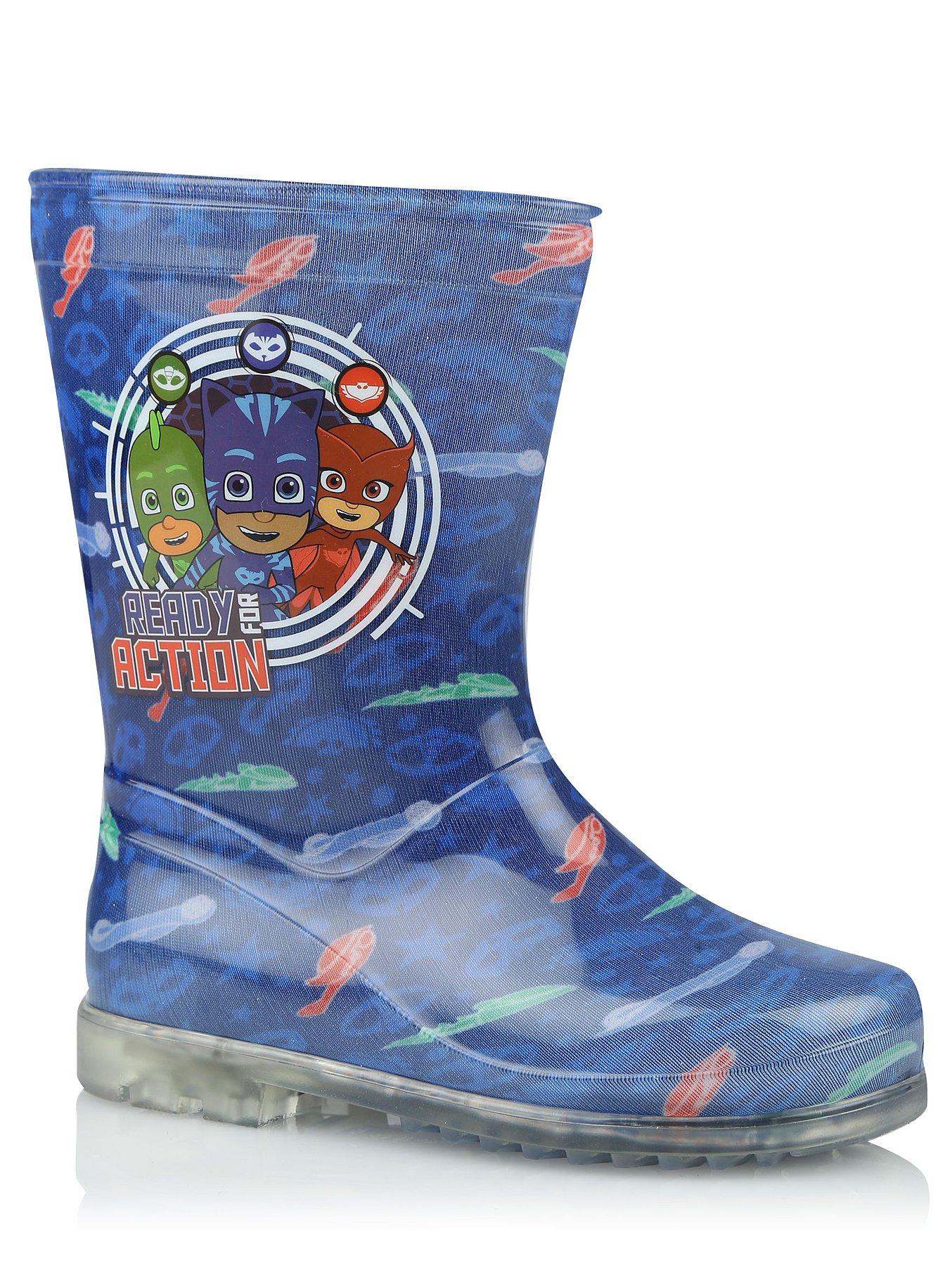 2348224e4 PJ Masks Light Up Wellington Boots