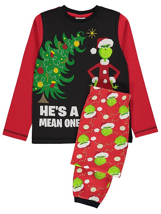 Dr. Seuss The Grinch Christmas Pyjamas  ac73cb362
