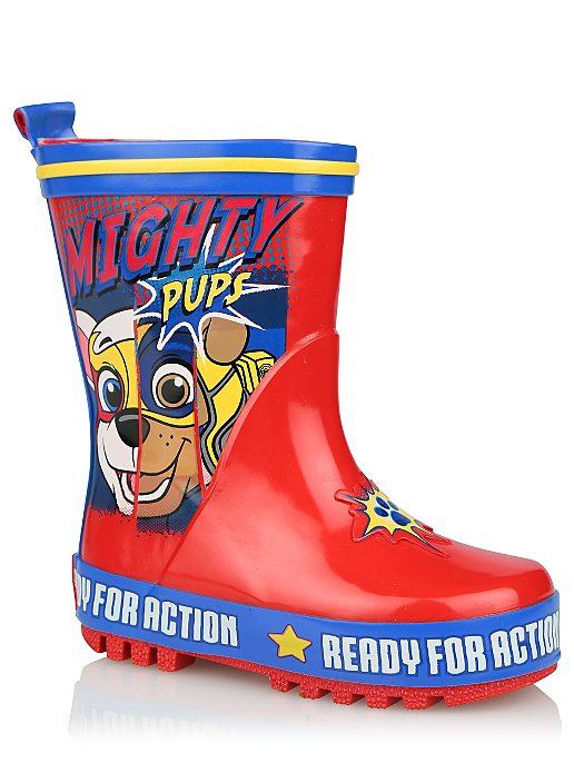 e0ca334a34f PAW Patrol Red Wellington Boots