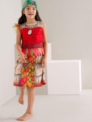 Disney Moana Fancy Dress Outfit