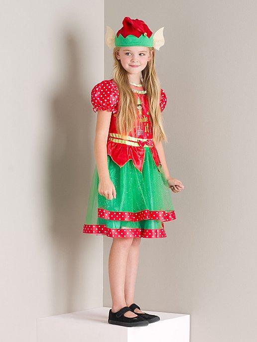 796f127e8154 Elf Christmas Fancy Dress Costume