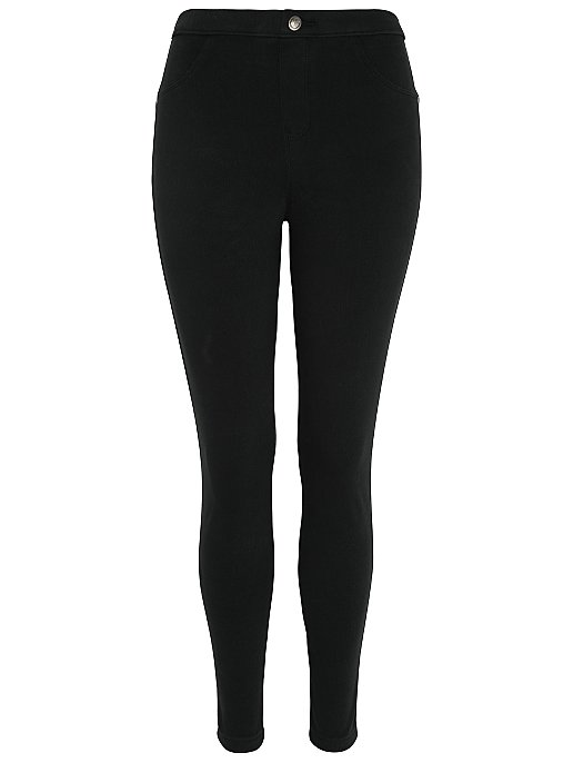 fc3225110fd Black Twill Jeggings. Reset