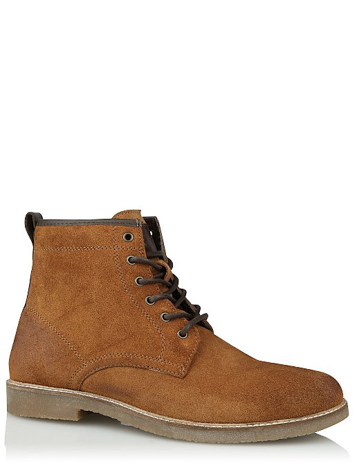 8d80371012f13 Tan Suede Lace Up Boot | Men | George