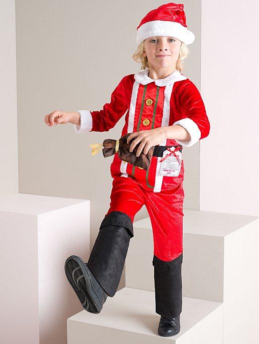 Christmas Santa Claus Fancy Dress Costume. Video a697bef11