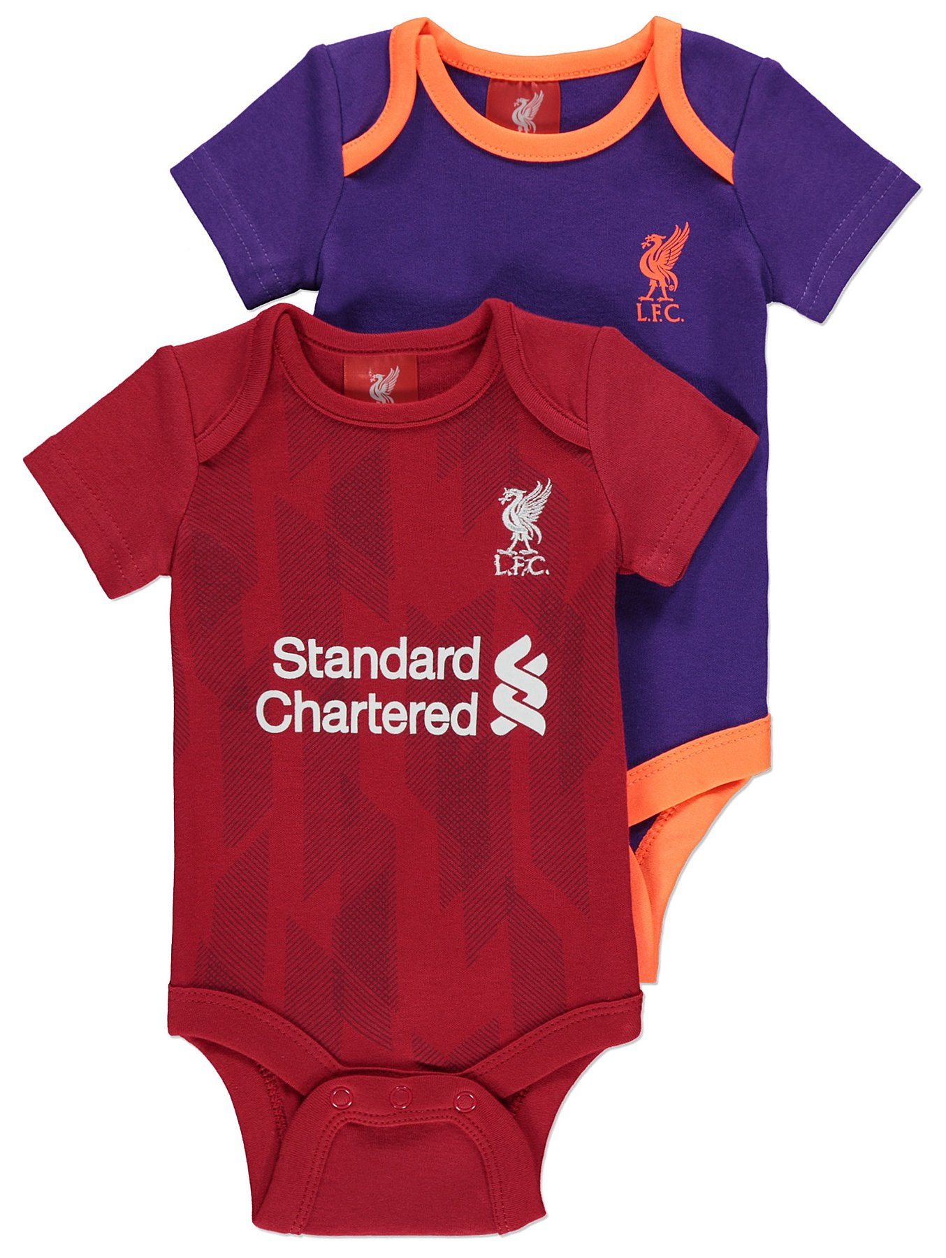 6eefafb0b Official Liverpool FC Bodysuits 2 Pack. Reset
