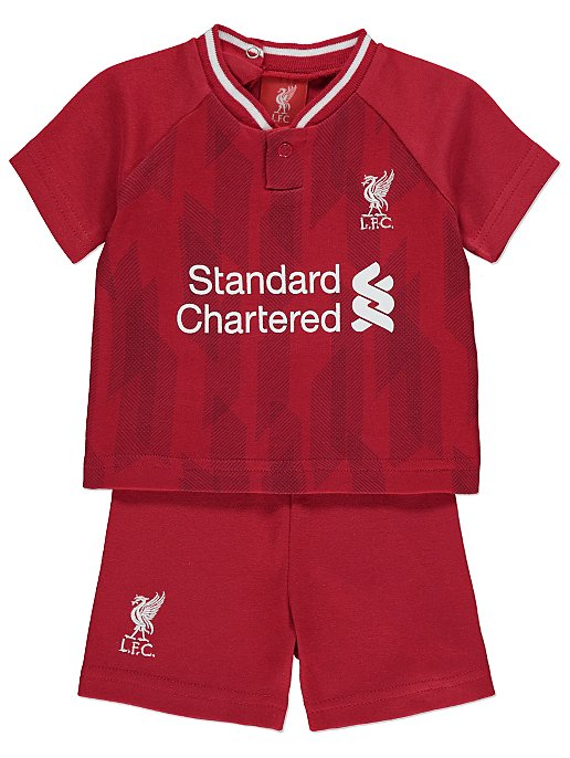 Official Liverpool FC T-Shirt and Shorts Outfit. Reset 86aba791702d