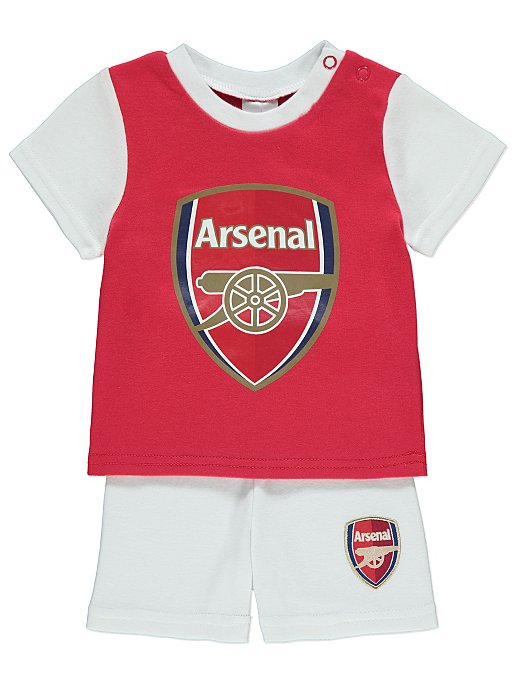 0ee920ffb Official Arsenal FC T-Shirt and Shorts Outfit