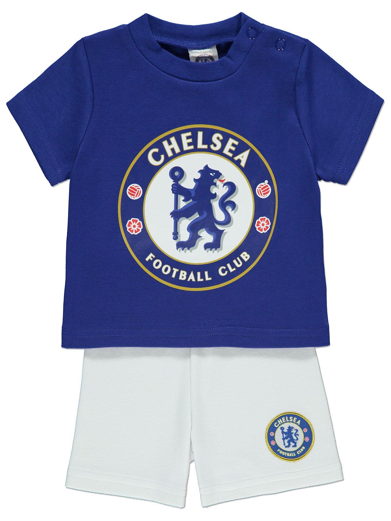 Boys Official Chelsea CFC Football Club The Blues Long Pyjamas 4 to 12 Years