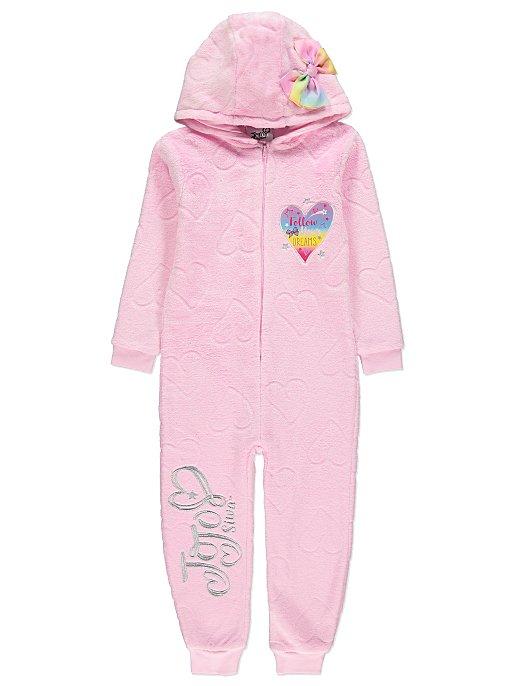 0f6c3d933e18 JoJo Siwa Pink Fleece Onesie