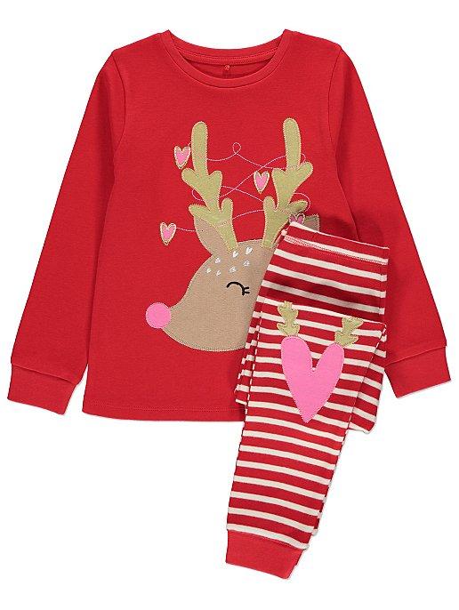 7e7a025788 Red Christmas Reindeer Pyjamas. Reset