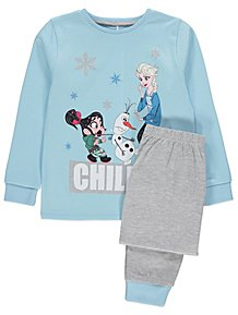 145a46a384a Disney Ralph Breaks the Internet  Wreck-It Ralph 2 Elsa Pyjamas