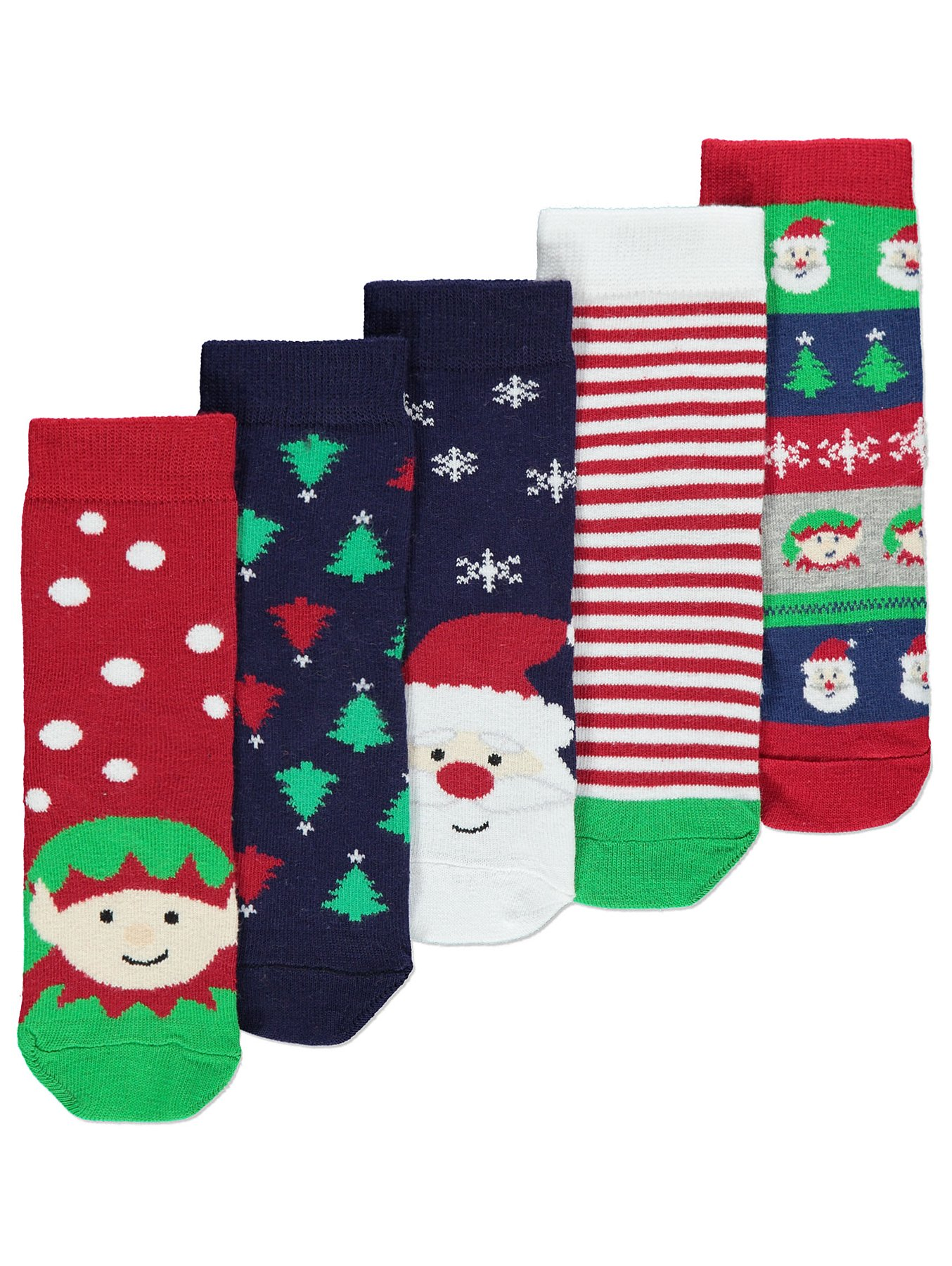 Christmas Socks 5 Pack