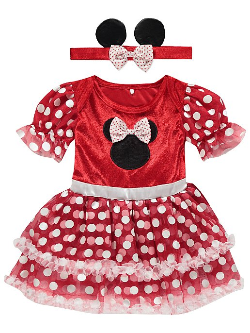 9db948495 Disney Minnie Mouse Baby Fancy Dress Costume | Baby | George
