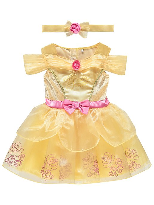 16e3210153b7 Disney Princess Belle Baby Fancy Dress Costume